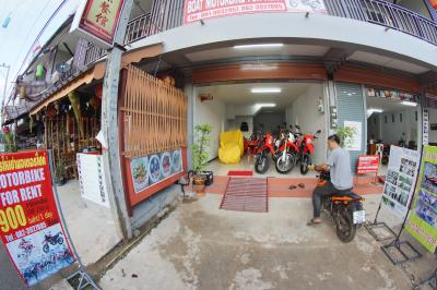Boai Motorbike for Rent